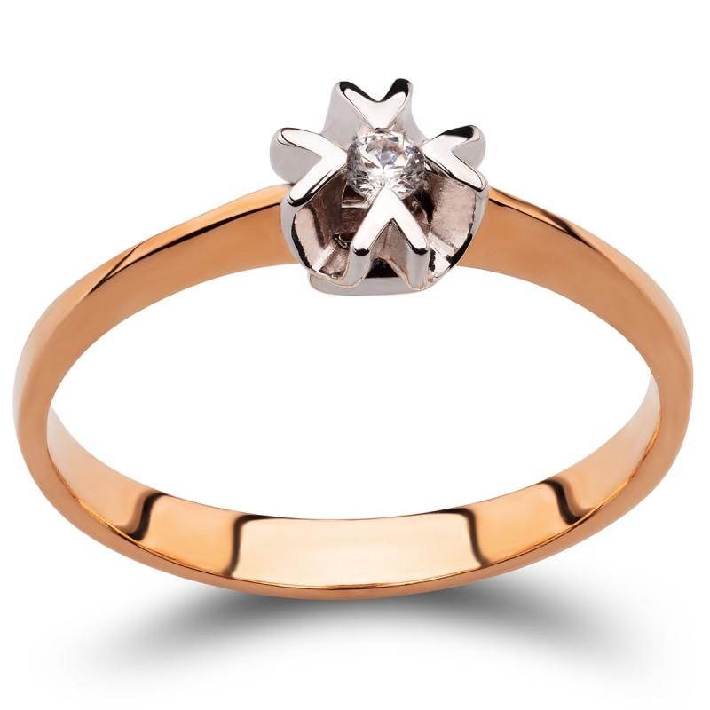 KLASYCZNY KRZYŻ ZŁOTY KRZYŻYK JEZUS CHRYSTUS 585 - 3294
