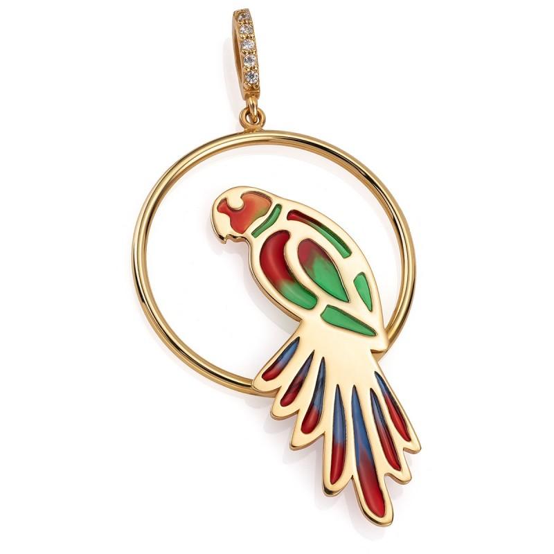 KRZYŻ ZŁOTY KRZYŻYK Z PANEM JEZUSEM CHRYSTUSEM 585 - 4853